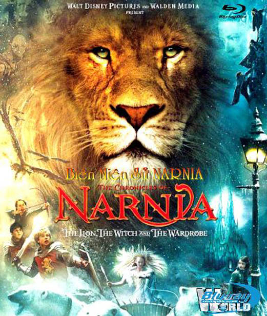 F1106.The Chronicles of Narnia 1 : The Lion, the Witch and the Wardrobe - Biên Niên Sử Narnia 2D50G (DTS-HD 5.1)